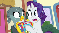 "Rarity ""as much time with me as possible!"" S9E19"