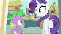 Rarity -Isn't it gorgeous-- S4E23