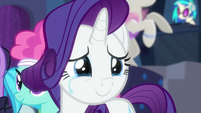 Rarity crying tears of joy S6E9