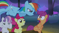 Scootaloo scared S3E06
