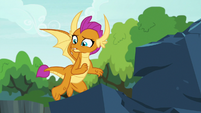 "Smolder ""and honestly"" S9E3"