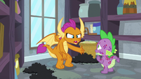 """Smolder """"living with ponies your whole life"""" S8E11"""