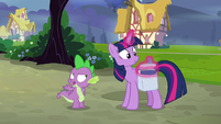 "Spike sarcastic ""how could I forget?"" S9E16"