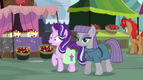 Starlight surprised by Maud's words S7E4