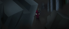 Tempest Shadow in crumbling throne room MLPTM