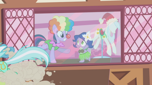 File:Twilight and Spike in costumes S1E3.png