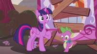 Twilight remembering something S5E25