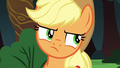 Applejack rolls her eyes at Rainbow Dash S6E18.png