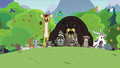Clinic animals stampede toward the sanctuary S7E5.png