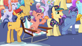 Crystal Ponies cheering S6E2.png