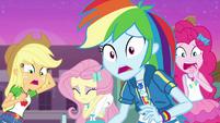 Equestria Girls watching in horror EGFF