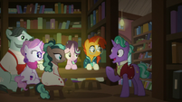 Firelight -my favorite section of the bookstore- S8E8