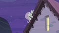 Fluttershy overhearing Starlight and Double's conversation S5E02.png