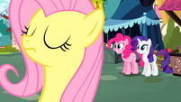 Fluttershy prepares to try again S02E19