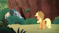 Fluttershy reveals the mountain shortcut S8E23