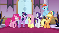 Mane Six unsure of their fighting chance S9E2