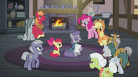 Maud reading Hearth's Warming poetry S5E20