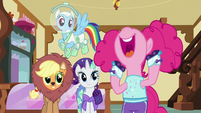 Pinkie Pie squealing with delight S5E21