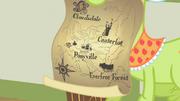 Primeiro mapa de Ponyville
