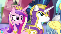 "Princess Cadance ""already a big relief"" S6E16"