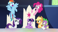 Rainbow Dash -you pace and you chart- S9E1