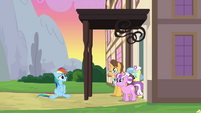 Rainbow Dash being discharged again 2 S2E16