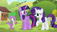 Rarity --the Ponyville Day Spa had a few problems-- S6E10