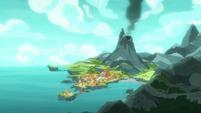 Rockhoof's volcano village home S7E16