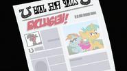 S02E23 Snips i Snails w gazecie