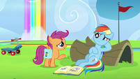 "Scootaloo ""dream of having parents like that"" S7E7"