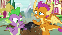 Smolder's pillow reduced to ashes S8E24