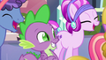 Spike happy for Crystal Hoof S6E16.png