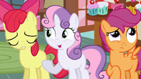 Sweetie Belle who knows S2E17