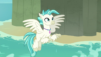 Terramar turns into a Hippogriff S8E6