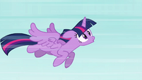 Twilight flying -woo-hoo!- S4E01