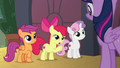 "Apple Bloom ""be a little more specific"" S8E6.png"