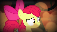 Apple Bloom looking around swamp S4E17