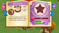 Apple Strudel album page MLP mobile game