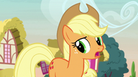 "Applejack ""didn't think I'd be much help"" S7E9"