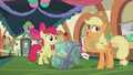 "Applejack ""only Pinkie Pie could hide a present"" S5E20.png"