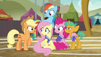 Applejack --you three made quite an impression!-- S6E18