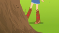 Applejack kicking a dirt mound EG3.png