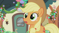 Applejack makes a realization S5E20