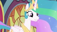 "Celestia ""what did you have in mind?"" S8E7"