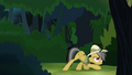 Daring Do sneaking around forest S4E04.png