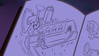 Desenho do castelo no diário T4E03