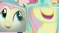 "Fluttershy's reflection ""so predictable!"" S7E12"