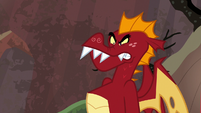 Garble angry Spike called him by nickname S9E9