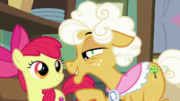 Goldie mentions the Great Seedling S9E10