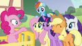 """Main five cry out """"Sugarcube Corner!"""" S5E19.png"""